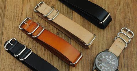 tali jam tangan kulit zulu leather kulit asli