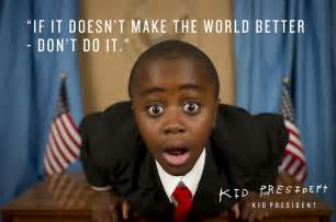 kid president gives a pep talk on purpose magazine