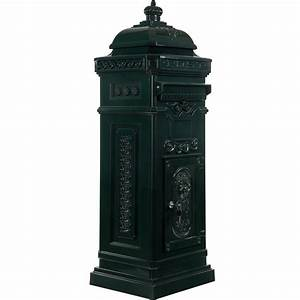 Grün Auf Englisch : antiker englischer standbriefkasten aus rostfreiem aluminium farbe gr n h he 102 5 cm ~ Orissabook.com Haus und Dekorationen