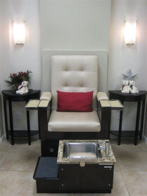manicure pedicure chairs nail room ideas
