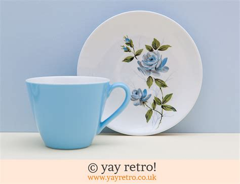 perfectly pastel  tea set vintage shop retro china