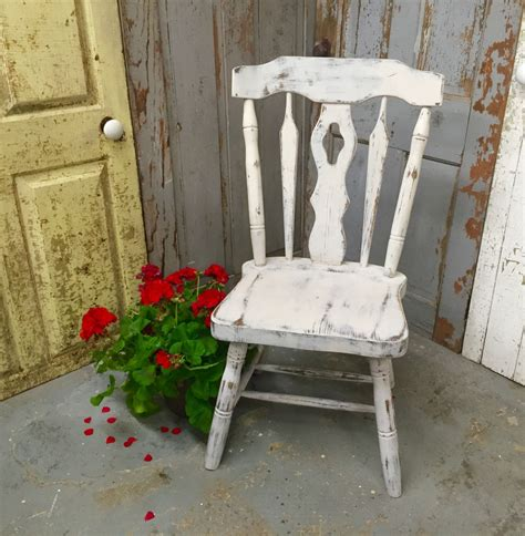 Sessel Shabby Chic by Gray Accent Chair Vintage Wood Chair Country Chic