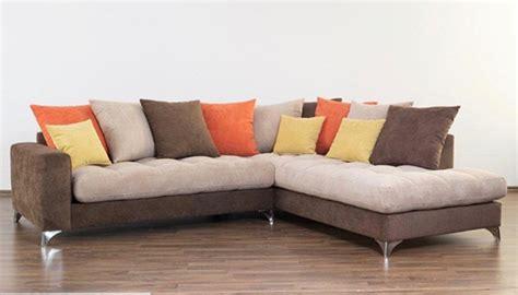 canapé famille nombreuse canapé d 39 angle à droite maxi corfu marron beige orange jaune