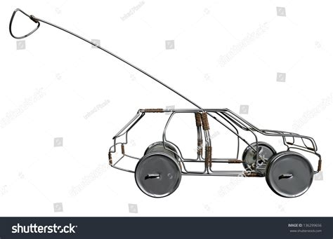 Wire Car by Traditional South Handmade Wire Stock