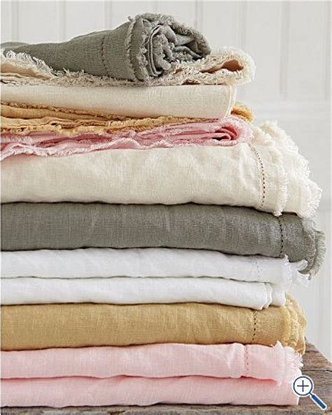 grey pink rust and ivory together eileen fisher washed linen bedding textiles