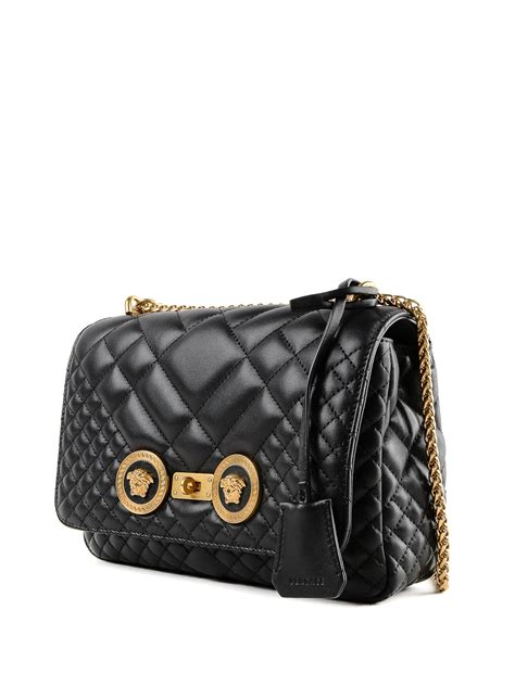 Shoulder bags Versace - Icon Medusa detailed quilted nappa ...
