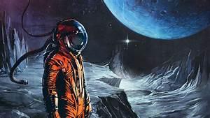 astronaut, Digital art, Fantasy art, Space, Universe ...