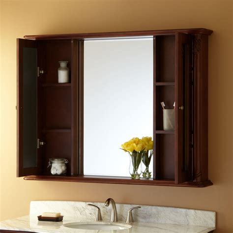 bathroom medicine cabinets with mirrors 48 quot sedwick medicine cabinet medicine cabinets bathroom