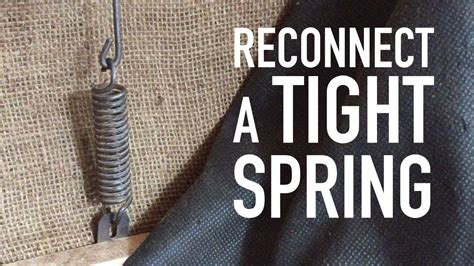 stretch  tight spring tension spring youtube