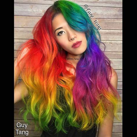 Rainbow Spectrum Hair Colors Ideas