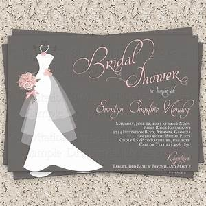 Bridal shower invitation wedding shower by invitationblvd for Wedding shower invitations etsy
