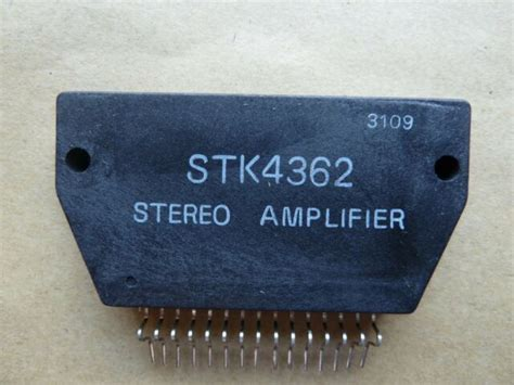 Stk Sanyo Original Stereo Amplifier Ship From