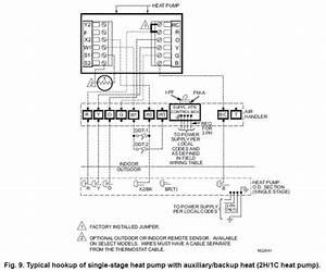 White Rodger Heat Pump Thermostat Wiring Diagram