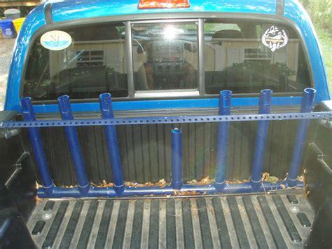 truck bed rod rack storage transport fishing input need