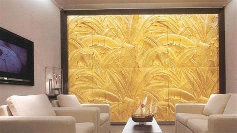 decorative wall panels adding chic carved wood patterns