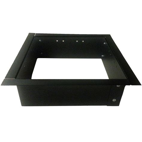 home depot pit insert 24 in square pit insert 417 rjt iq 23 8 the home