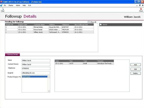 crm excel template freeware free excel crm sheet template