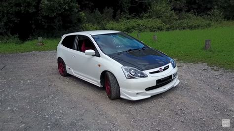 honda tech jdm ep3 civic type r runs 270 all motor horsepower
