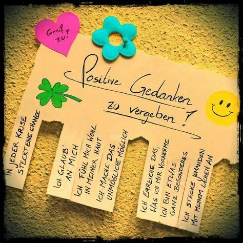 positive gedanken spr 252 che spr 252 che positive gedanken