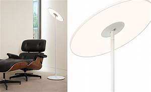circa led floor lamp hivemoderncom With designer led floor lamp