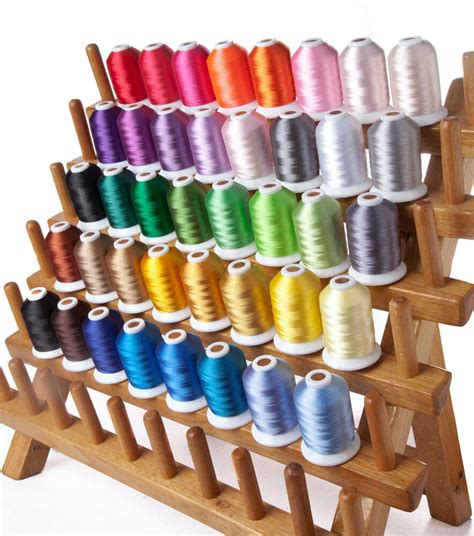 thread colors simthread 40wt polyester embroidery machine spools thread