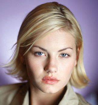 elisha cuthbert  short haircut  side bangs