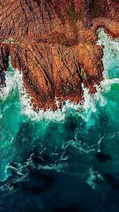iPhone wallpaper. Ocean waves.... HD Desktop Wallpaper ...