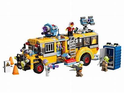 Lego Bus Hidden Side Official Paranormal Ninjago