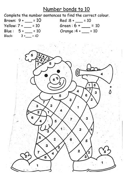 14 Best Images Of Number Bonds Worksheets  Number Bond Worksheet Printables, 10 Number Bond