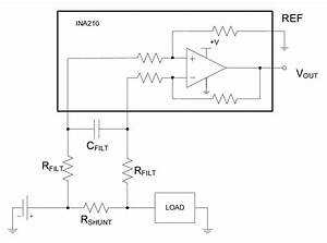 Current Measurement With A Shunt Resistor And Low Pass