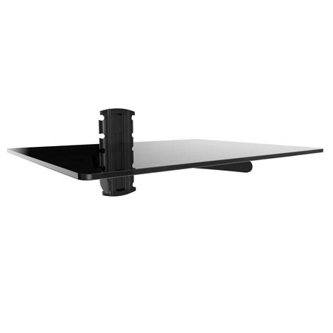 Wall Mount With Shelf by Gforce Dvd Player Shelf Wall Mount With Black Tempered