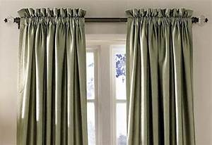 Some magnificent curtain types for your households for Types of pleat curtains