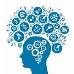 Brain Gear Clipart Mind Transparent Icons Vector