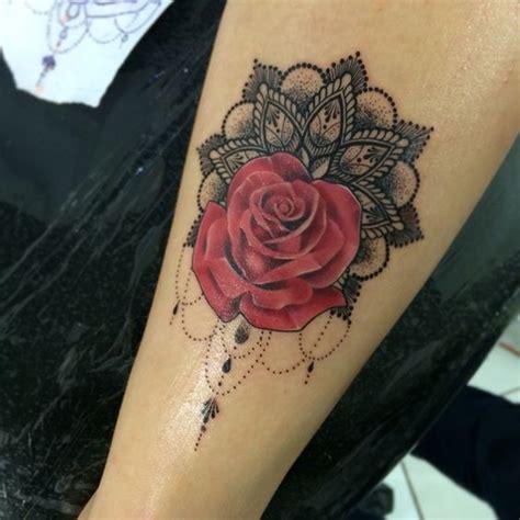 tattoo rose mandala tattoo  work pinterest tattoo