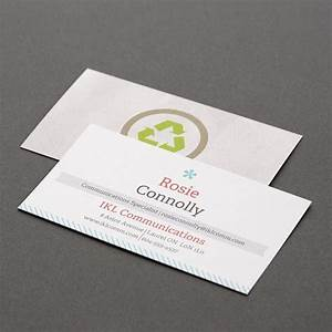 custom recycled matte business cards vistaprint With business cards recycled