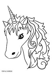 disegni  unicorni  unicorni kawaii da colorare
