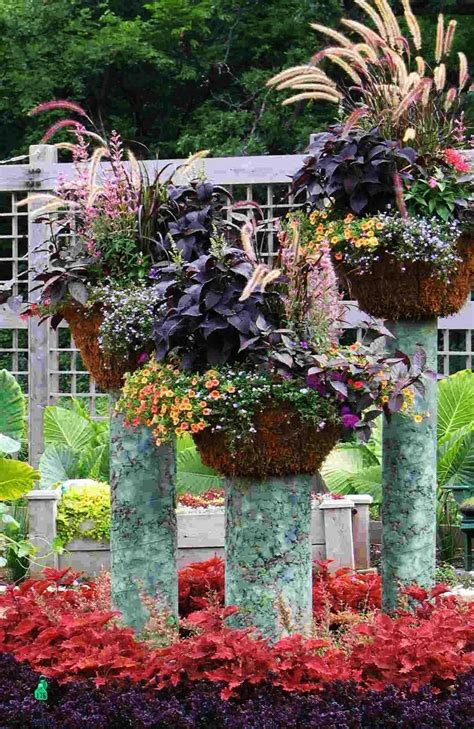 Garden Ideas by Corner Container Gardening Ideas Corner