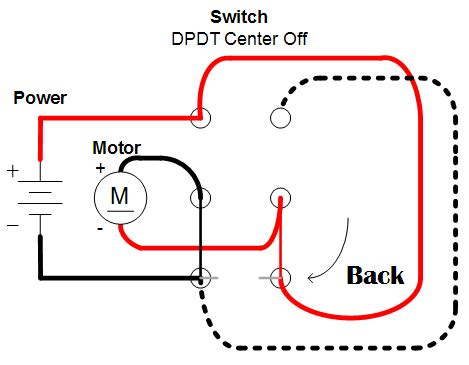 wiring a motor for forward and