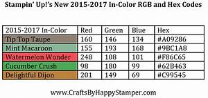 Html Farben Code : 2015 2017 in color rgb and hex codes stampin 39 up pinterest stampin farben en bastelideen ~ Orissabook.com Haus und Dekorationen