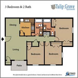 2 bedroom floor plans 3 bedroom 2 bath tulip grove apartments hermitage tn