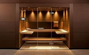 Sauna Mit Glasfront : klafs ma anfertigung einer sauna nach ihrem wunsch ~ Whattoseeinmadrid.com Haus und Dekorationen