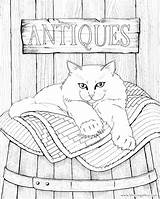 Coloring Pages Adult Cat Cats Books Quilt Printable Adults Quilts Colouring Hamilton Grown Jason Sheets Ups Dog Bluecat Print Pattern sketch template