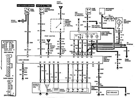 2001 Ford Ranger 4x4 Wiring Diagram by I A 1989 Ford Ranger 4x4 Wont Engage Into Replaced