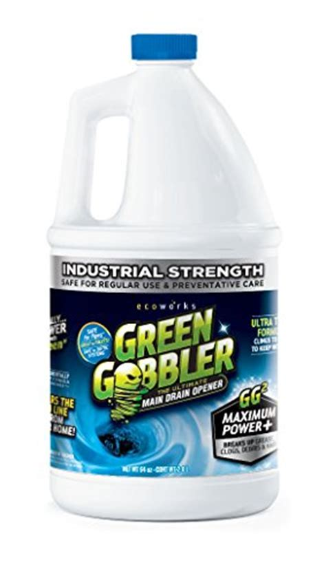 Best Drain Opener For Bathroom Sink by Green Gobbler Dissolve Liquid Hair Grease Clog Remover
