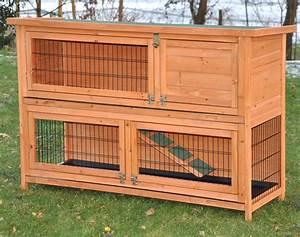 Kaninchenstall Für Draußen : nanook hasenstall kaninchenstall kleintierstall flauschi xl 130x83x49 cm natur ~ Watch28wear.com Haus und Dekorationen