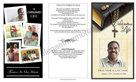 Funeral Phlets Templates Free by Obituary Template 8 5 X 28 Images 8 Free Obituary