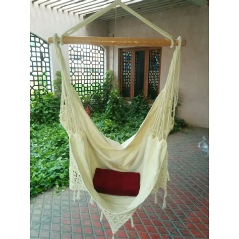 Buy Hammocks by Buy Fabric Garden Hammock Chair Swing With Made