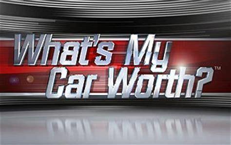 whats  car worth tv program filming  fall carlisle