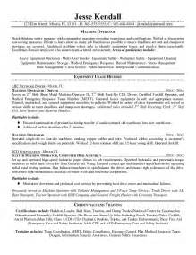 forklift operator qualifications resume printable summary of qualifications forklift operator resume sle expozzer