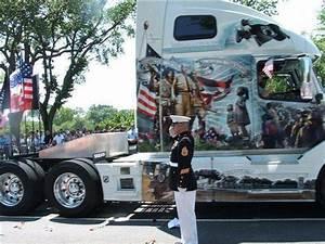 Awesome Looking Patriotic Trucks